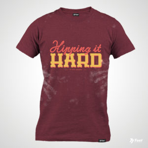 camiseta de crossfit kipping it hard